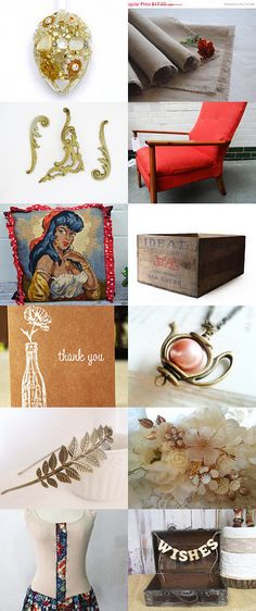 Shabby chic delights... by Kay on Etsy--Pinned with TreasuryPin.com