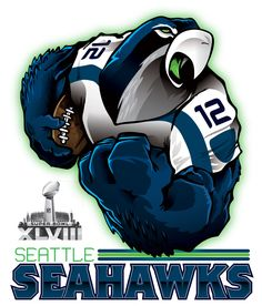 Check out all our Seattle Seahawks merchandise! Seahawks Football, Seahawks Fans, Nfl Football Teams, Best Football Team, Football Stuff, Seahawks Merchandise, Seattle Seahawks Logo, Nfl Seattle, Football Art