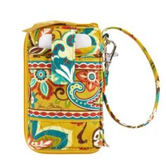 Carry It All Wristlet | Vera Bradley - Would be perfect for those times when you don't want to take your whole purse!