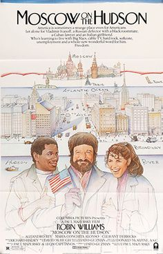"Moscow on the Hudson (1984) Vintage One-sheet Movie Poster - 27""x 41"""