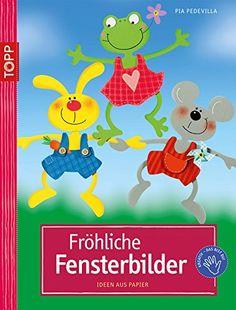 Fröhliche Fensterbilder: Ideen aus Papier - http://kostenlose-ebooks.1pic4u.com/2015/01/02/froehliche-fensterbilder-ideen-aus-papier/