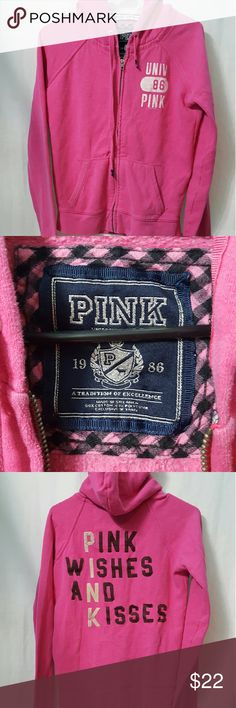 PINK by VS Women's sweatshirt Pink Medium PINK by Victoria's Secret women's sweatshirts. Medium. Pink. Long sleeve. In good used conditipn. A766 PINK Victoria's Secret Tops Sweatshirts & Hoodies