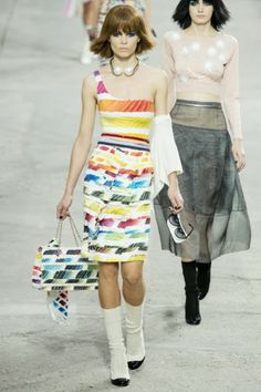 Chanel collection spring/summer 2014.