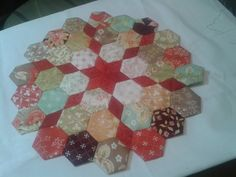 Hexagon and Star Shape Quilt