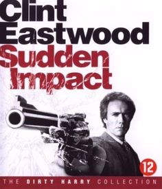DIRTY HARRY : SUDDEN IMPACT BLU-RAY w/CLINT EASTWOOD
