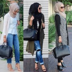 street style hijab fashion, Fall stylish hijab street looks http://www.justtrendygirls.com/fall-stylish-hijab-street-looks/