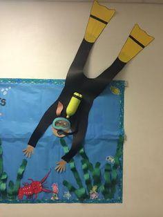 Scuba Diver bulletin board