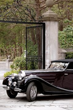 Ralph Lauren, whose passion for classic automotive design has been a source of inspiration for years