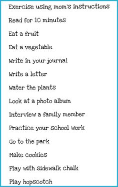 List of Activities for Mom I'm Bored Jar from Somewhat Simple | Skip To My Lou