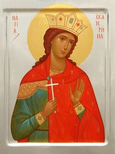 Icon of the Holy Great Martyr Catherine