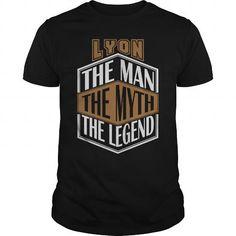 I Love LYON THE MAN THE LEGEND THING T-SHIRTS T shirts