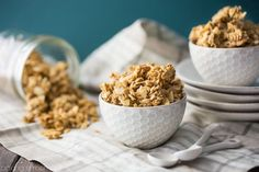 Best ever basic granola recipe- this can be customized in a million different ways, but it's really amazing as-is too!