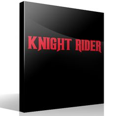 Adesivi Murali Knight Rider