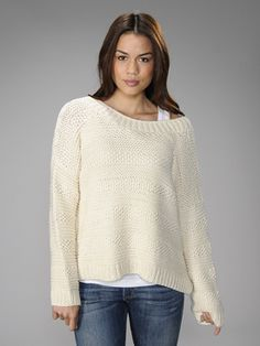 Vince Textured Hand Knit Sweater
