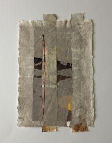 Bettina Bradt, Silence I, Papiercollage