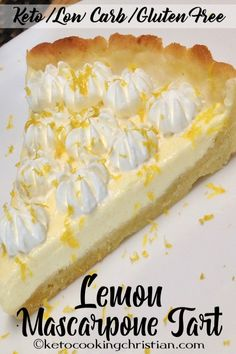 Lemon Mascarpone Tar
