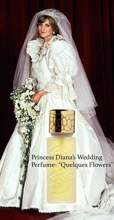 Diana's wedding perfume. Princess Diana Wedding, Princess Diana Death, Princes Diana, Real Princess, Perfume Vintage, Diana Williams, White Gardenia, Beautiful Perfume, Lady Diana Spencer