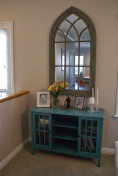 Little Oratory - love the chapel window/mirror!