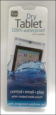 A great travel accessory to protect devices from water damage.