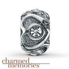 Charmed Memories® Stopper Charm Sterling Silver