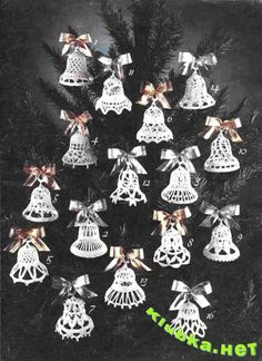 FREE PATTERNS ~ WRITTEN IN RUSSIAN ~ Christmas Bells ~