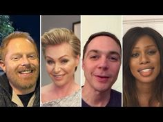Ellen compiled a message from the likes of Neil Patrick Harris, Evan Rachel Wood, Jesse Tyler Ferguson and many more to offer a personal message of thanks to...
