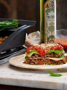 Lasagna de verduras express