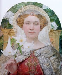 Edgar Maxence L'annonciation, 1901