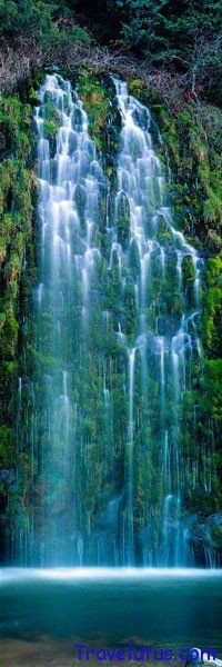 Oh, I'd love to see this IRL >>> Mossbrae Falls, California, USA