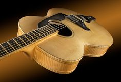 Custom Built Archtop Acoustic GuitarThe SoHo 17 Body : 17 : 13 upper boutBody Depth : at neck to 3 at end pinTop :
