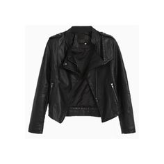 Lapel Leather Biker Jacket With Studs (16.130 HUF) ❤ liked on Polyvore featuring outerwear, jackets, tops, choies, studded motorcycle jacket, studded moto jacket, genuine leather biker jacket, studded biker jacket and studded jacket