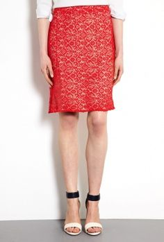 Is your bottum smaller than your top? Wear colored printed skirts or trousers and neutral tops (no prints).
