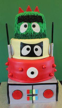 Kids Birthday cake by Cecy Huezo . www.delightfulcakesbycecy.com