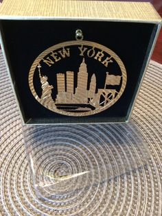New York 9 11 Ornament Brass 2001 Twin Towers Ornament | eBay