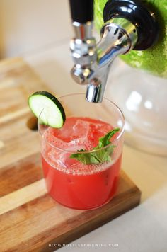 How To Tap A Watermelon: easy how tos and a recipe! Cocktail Recipes, Cocktails, Watermelon Cocktail, Strawberry Wine, Party Drinks, Mixed Drinks, Liquor, Pineapple, Pumpkin