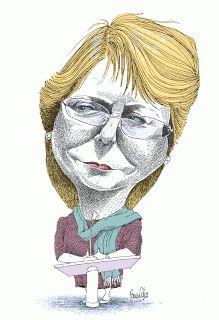 #MichelleBachelet - Pancho Cajas #Chile