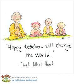 Happy Teachers — #BuddhaDoodles
