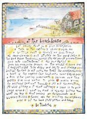 Beach Grass — At the Beach House by Sandy Gingras