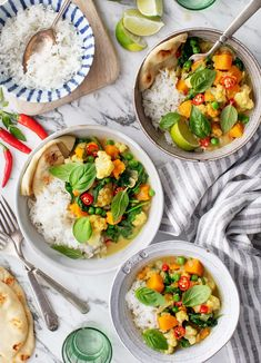 Butternut Squash Turmeric Curry – the perfect weeknight dinner! Made with easy-t… Cauliflower Vegetable, Curried Cauliflower Soup, Curried Lentil Soup, Vegetable Curry, Vegetable Dishes, Curry Recipes, Vegetarian Recipes, Healthy Recipes, Raw Recipes