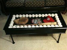 Baseball Bat Coffee Table