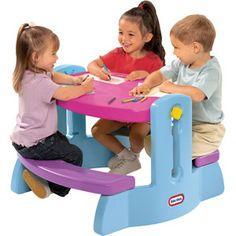 Little Tikes Adjust N Draw Table, Purple