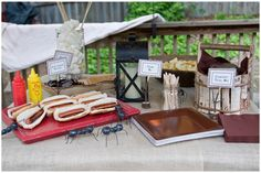 HOST A BACKYARD CAMP OUT PARTY!
