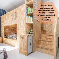 the boo and the boy: plywood in kids' rooms Modern Kids Bedroom, Childrens Bedroom Decor, Modern Room, Bedroom Kids, Kids Beds With Storage, Bed Storage, Bunk Beds For Boys Room, Kid Beds, Tiny House Bedroom