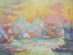 La Corne d'Or, Constantinople by Paul Signac (1863-1935)