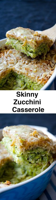 A very tasty zucchini casserole flavored with black pepper and a little cheese.