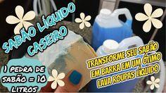 SABÃO LÍQUIDO CASEIRO (LAVA ROUPAS) 10 LITROS/ MUITO FÁCIL