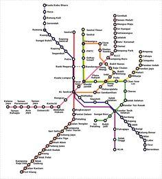 """Per qualificare il metrò di Kuala Lumpur ci sono state pressi diverse categorie: ferrovia leggera, treni pendolari suburbani e monorotaia. Anche se viene chiamato ferrovia leggera è una metropolitana indipendente. Quindi ne parleremo di due linee una """"treno leggero-metrò"""" e l'altra linea a monorotaia. Tutti e tre sono gestite da due compagnie diverse."""