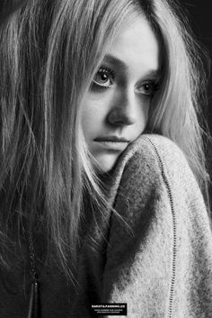 Dakota Fanning. she is so adorable. I love every picture of her.