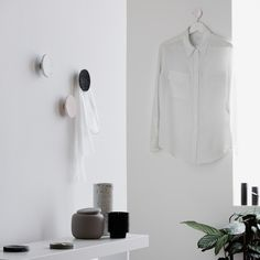 Designstuff offers a range of Scandinavian designed home decor including this beautiful terrazzo hook by Zakkia.