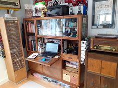 Vestimentum Gewanddesign - exklusive Maßanfertigung - Atelier Bookcase, Workshop, Shelves, Design, Home Decor, Atelier, Ground Floor, Shelving, Decoration Home